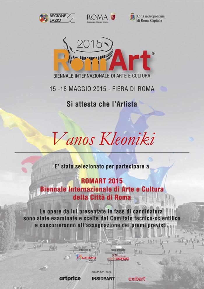 Attestato-Partecipazione-Romart-2015-Vanos-Kleoniki