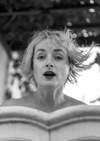 artist, photographic artist, portrait of an artist, windblown hair,